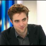 Interview et caps de Robert Pattinson au JT de 20h de France 2 0893b6130403207