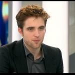 Interview et caps de Robert Pattinson au JT de 20h de France 2 4c3a00130403788