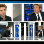 Interview et caps de Robert Pattinson au JT de 20h de France 2 88dc6e130403770