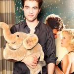 """Robert Pattinson soutient l'association caricature """"Help the Children"""" 84445f131795219"""