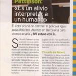 Robert Pattinson dans La Semana et Nuevo Vale ( Espagne) + traduction Ca5b19131654569