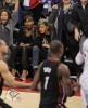 Rihanna assiste au match de basket des Los Angeles Clippers à Los Angeles. D947cf169715647