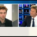 Interview et caps de Robert Pattinson au JT de 20h de France 2 0835e4130403729