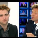 Interview et caps de Robert Pattinson au JT de 20h de France 2 3c09a4130403595