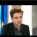 Interview et caps de Robert Pattinson au JT de 20h de France 2 614070130403890