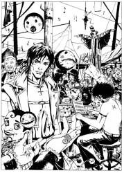 Archivio immagini di Brendon realizzate per le fiere del fumetto 1be980185260382