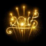 صور تهنئة بالعام الجديد 2015 New-year-fireworks-s-confetti-vector-illustration-43640184