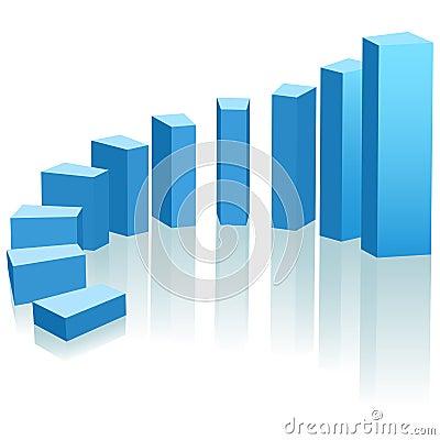 Organizovaný život Growth-chart-upward-progress-arc-12082328