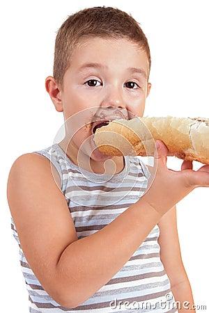 Que suis-je par Gin-To trouvé par la collectivité  - Page 2 Le-beau-petit-gar%C3%A7on-mange-du-pain-avec-du-cr-de-chocolat-26313645