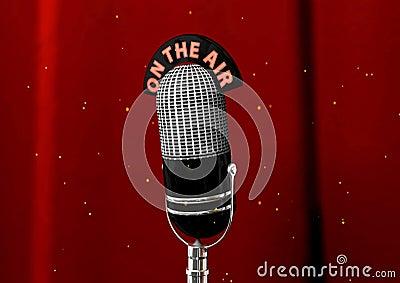 1....2...3... ESTAMOS EN EL AIRE  - Página 2 Microfone-antigo-7614173