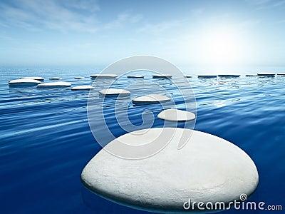 Un mot pour définir une image Pierres-d-op%C3%A9ration-en-mer-bleue-24388716