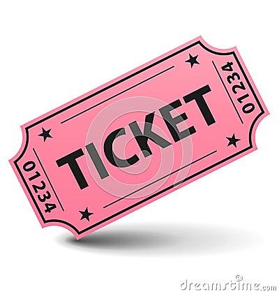 ¿Vamos al cine? Pink-ticket-10975743