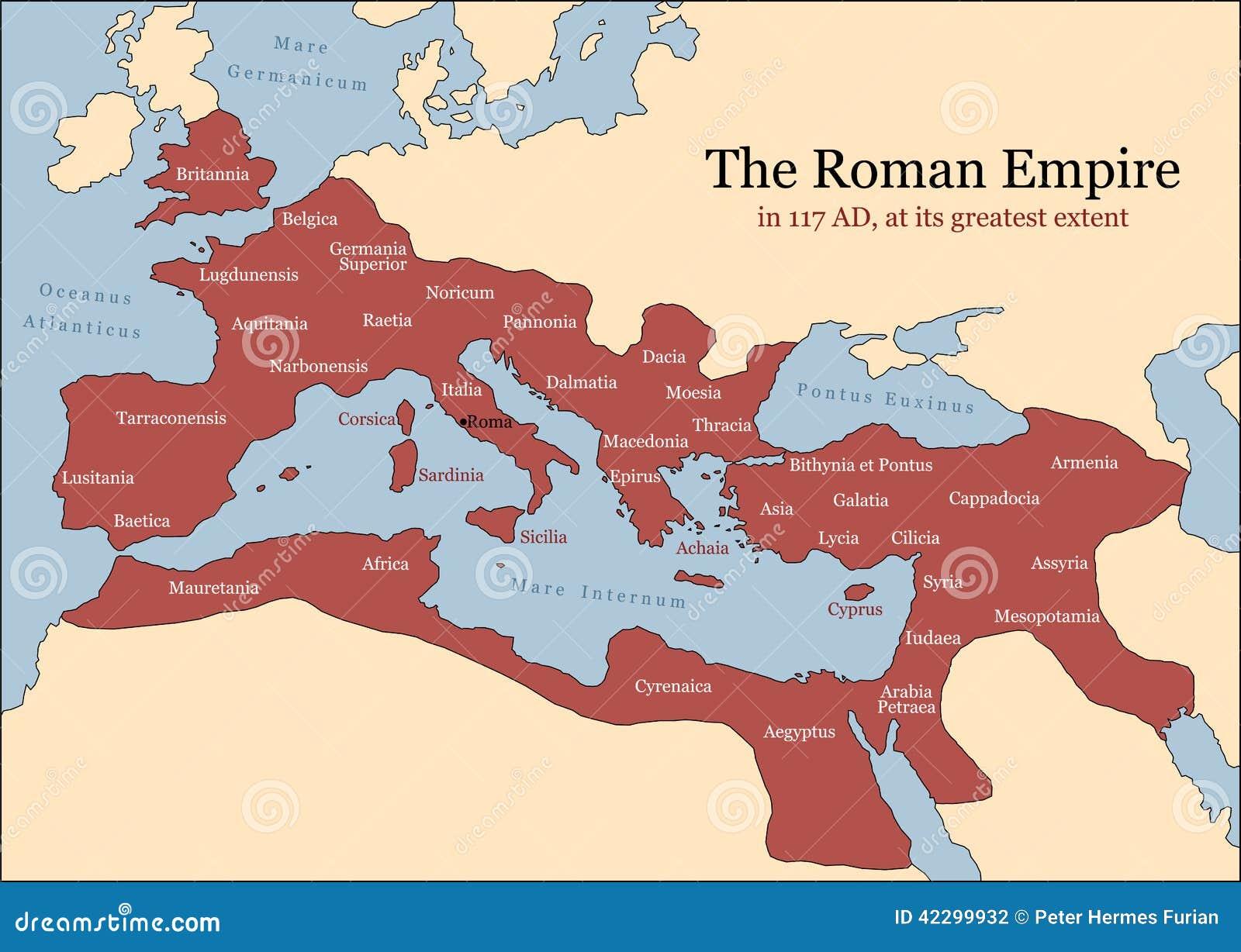History of Russian Empire Thread Roman-empire-provinces-its-greatest-extent-ad-time-trajan-plus-principal-vector-illustration-42299932