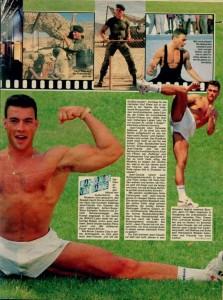 Жан-Клод Ван Дамм (Jean-Claude Van Damme)- сканы из разных журналов Cine-News D5f82e613661193
