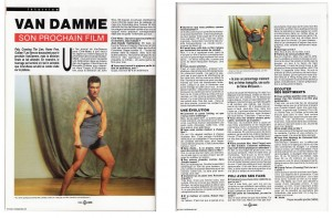 Жан-Клод Ван Дамм (Jean-Claude Van Damme)- сканы из разных журналов Cine-News 439de4607709083