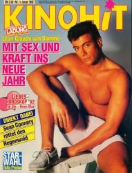 Жан-Клод Ван Дамм (Jean-Claude Van Damme)- сканы из разных журналов Cine-News B90722608424833