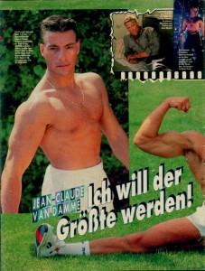 Жан-Клод Ван Дамм (Jean-Claude Van Damme)- сканы из разных журналов Cine-News C916f6613661223