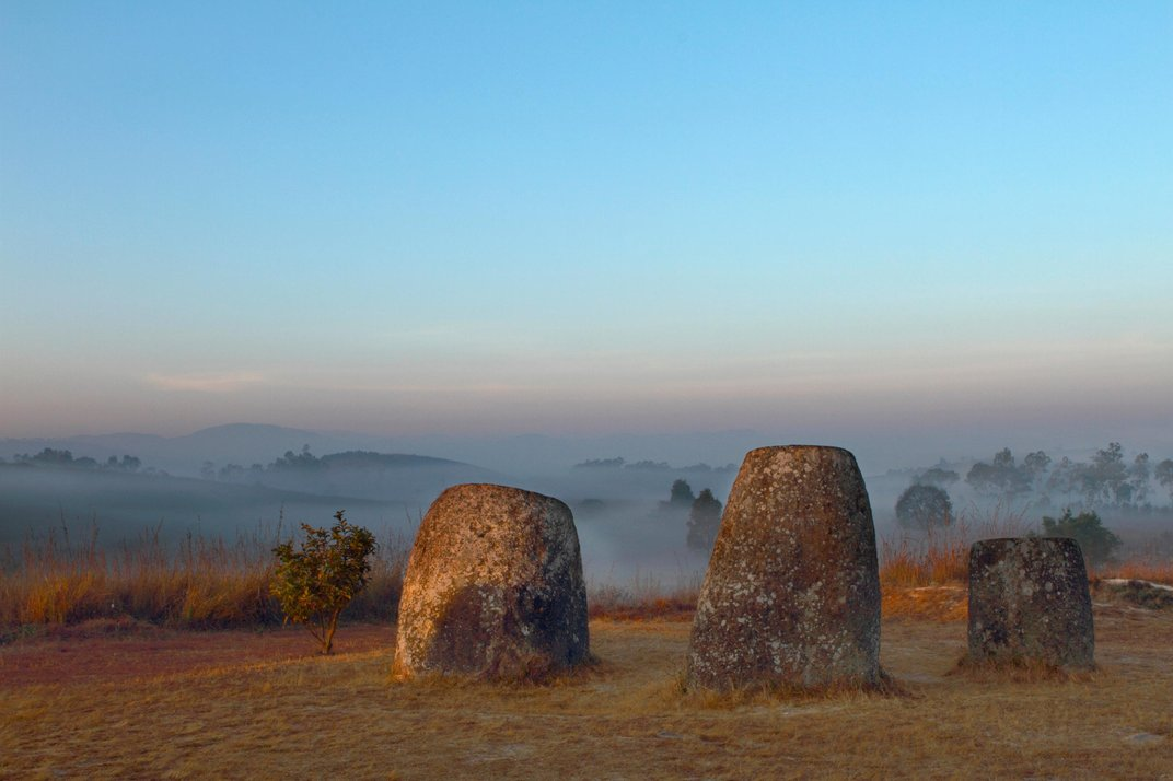Ancient Urns or Drinking Vessels for Giants? Behind the Mysterious Plain of Jars in Laos Plain-jars-laos-dusk.jpg__1072x0_q85_upscale