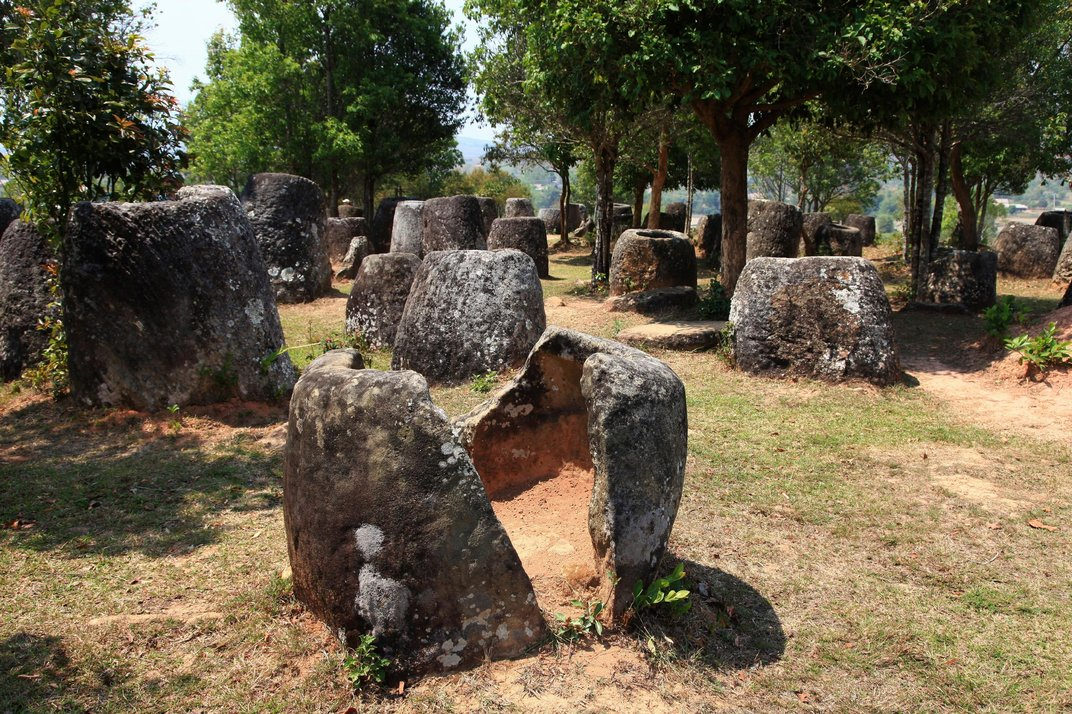 Ancient Urns or Drinking Vessels for Giants? Behind the Mysterious Plain of Jars in Laos Plain-jars-laos-cracked.jpg__1072x0_q85_upscale