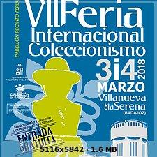 FERIA COLECCIONISMO VILLANUEVA DE LA SERENA 0044509a27350bda3a0247995c6626eco