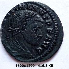 Nummus de Maximino II. S P Q R OPTIMO PRINCIPI. Roma 03db0d9f15f8fc6df8ad0b3dba134a3eo