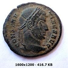 AE3 de Constantino I. DN CONSTANTINI MAX AVG / VOT XX. Ticino 046254a9b6dd05c3a52d2fc542032dd3o