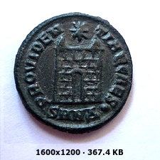 AE3 de Constancio II. PROVIDENTIAE CAES. Nicomedia 061bcb4e39cf22260b9ad29ccb5854a5o
