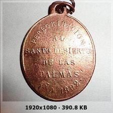 Medalla de San Juan De La Cruz / Inscripcion - s. XIX 0b488c6008271bb409fad060bd282862o