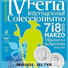 IV Feria Internacional de Coleccionismo Villanueva de la Serena 10af587e90aca89b3f897d158d8e5352o