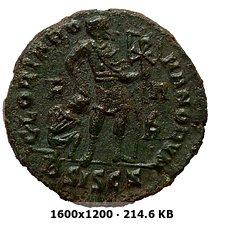 AE3 de Valentiniano I. GLORIA ROMANORVM. Siscia 11564263e2007906a11d10a46c2489f5o