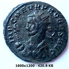 Aureliano de Probo. SOLI INVICTO. Sol con cuadriga de frente. 2b3cbdbe596172db36cd4161c079f156o
