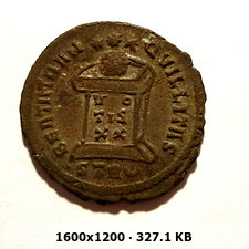 AE3 de Constantino I. BEATA TRANQVILLITAS. Trier  2d3f9e00b487ec149fe5c12ec02ab2d4o
