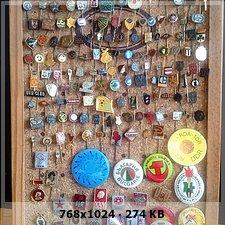Pins de lapela antigos e crachas antigos!! 2d6b12c91cd3ff979bb79888db7a9e6bo