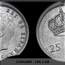 25 Pesetas Juan Carlos I 1975 *76 segmentadas 2eb8054c0f9d438d3817b2c05cdaa96ao