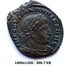 Nummus de Constantino I. SOLI INVICTO COMITI. Roma 38546a98d4862b9f99d1302d5ca48b47o