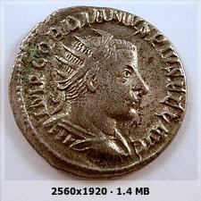 Antoniniano de Gordiano III. SAECVLI FELICITAS.   Antioquía 38590f04137b627834e15ecac09d2577o