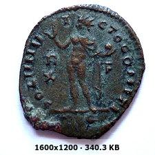Nummus de Constantino I. SOLI INVICTO COMITI. Roma 395392cf65d2938290c03c44dd0a2149o