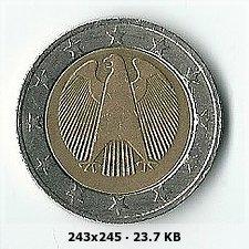 2 Euros Alemania ¿año?, ¿ceca?, ¿estrellas giradas? 3c99764710fc748b6add7908a301cc5ao