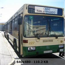 AUTOBUSES DE LA LINEA INTERURBANA CADIZ - SAN FERNANDO. SU HISTORIA 3efc75c040aca6e100772ce1d9608709o