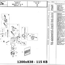 Carburador Vespa 50 409306ce73f2c8ba2aaa7a745c2360ebo
