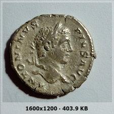 Denario de Caracalla. PONTIF TR P X COS II, ceca Roma. 412abe5702cbff61a07cc9e29726be13o