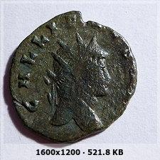 Antoniniano de Galieno. AETERNITAS AVG. Roma  521a7b0c98e6cbe3e573a822f15458a7o