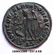 Nummus de Constantino I el Grande. IOVI CONSERVATORI AVGG NN. Siscia 54d8caa92c59fe6fde293c13cfaa0837o