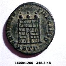 AE3 de Crispo. PROVIDENTIAE CAESS. Heraclea 5607262e64ed0e1a7f3b8e35c85ad023o