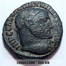 Nummus de Maximino II Daza. GENIO AVGVSTI. Alejandría 5743075bb04c624761c31a78f209bffao