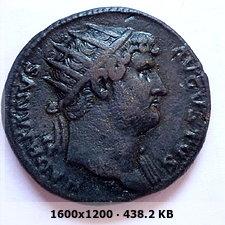 Dupondio de Adriano. COS III / S C. Salus 588c6a024c7d06b057496f08b6561d8ao