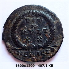 AE3 de Juliano II el Apóstata.  VOT X MVLT XX.  Heraclea 5994158d3c54db27e1b45d00b8a837fco