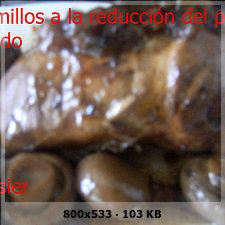 Solomillos de cerdo a la reducción de palo cortado 646e04475327549075f4f28129e04149o