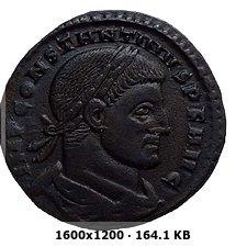 Nummus de Constantino I. SPQR OPTIMO PRINCIPI. Roma 72f146f9c5a2b37caab21fcd0ae1a89do