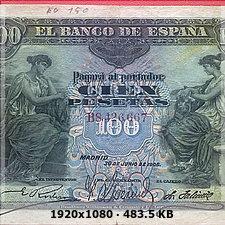100 PESETAS EMISIÓN 30 JUNIO 1906 78519b6fae19281e129e7b12b75896a8o
